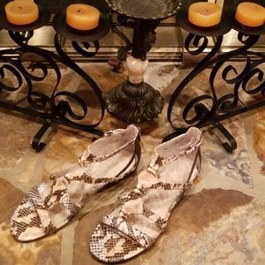 NWOT/Franco Sarto Gladiator Sandals